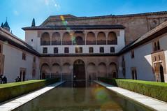 Patio de los Arrayanes (kong niffe) Tags: alhambra granada españa spain spania palace moorish moors muslim islam art pool