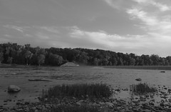 Independance Dam (RIVERBED IMAGES) Tags: nature statepark blackandwhite maumeeriver river independencedam