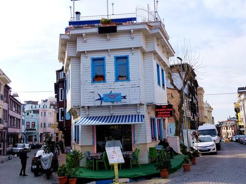 A seafood restaurant, Istanbul, Turkey