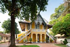 Wat Niwet Thammaprawat (imageofbangkok) Tags: architecture ayutthaya bangpain buddhisttemple colonialarchitecture watniwetthammaprawat westerninfluencesarchitecture