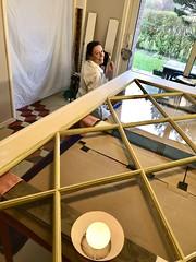 20200209 lak (enemyke) Tags: renovatie restauratie pixeldiary 2020 februari lak flexa schuifdeur verf schilderen painting paint puerta door deur