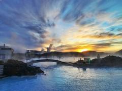 """Blue Lagoon sunrise (Jim_Nix) Tags: """"bluelagoon"""" reykjavík iceland travel snapseed iphone"""