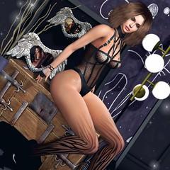 ♥ (♛Lolita♔Model-Blogger) Tags: lolitaparagorn unitedcolors ncore vanityhair dahlia blog blogger blogs beauty bodymesh bento