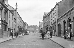 Scotch Street, Dungannon, Co. Tyrone (National Library of Ireland on The Commons) Tags: robertfrench williamlawrence lawrencecollection lawrencephotographicstudio thelawrencephotographcollection glassnegative nationallibraryofireland scotchstreet dungannon countytyrone tyrone northernireland ulster valentine cookies