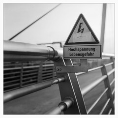 Saturday at the Central Station (II) (Maximilian Busl) Tags: bayern deutschland hof blackandwhite film rollei analog germany cityscape railway rolleicord