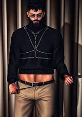 [ 📷 - 322 ] (insociable.sl) Tags: modulus magnificient clefdepeau beard crop dom dominant domination master boy man male edit sl secondlife