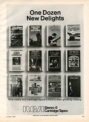 RCA Stereo 8 Cartridge Tapes 1968 (Nesster) Tags: vintage stereo hifi magazine print ad advert advertisement october 1968 hifistereoreview