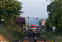 247 906 I Immelborn (Bahn Sascha) Tags: eisenbahn db cargo siemens vectron br247 thüringen güterzug train railway schienen zug güter formsignale