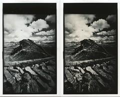 Wall Wall (fawcetownsley) Tags: film blackandwhite print moersch lith wideangle darkroom diy kodabrome kodak zuiko olympus technicalpan techpan semistand rodinal