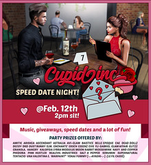 ♥ Cupid Inc. 2020 Party by }Novel Events{ ♥ (Ada Forwzy) Tags: second life sl virtual world event cupid inc party date