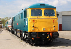 British Rail Class 87 - Robert Burns (big_jeff_leo) Tags: transport train transportmuseum railway rail british britain