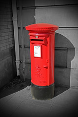 The Royal Mail Post Box (big_jeff_leo) Tags: red postoffice post mail iconic