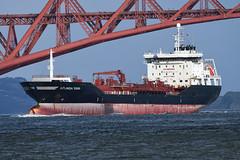 Jutlandia Swan - Port Edgar - 12-02-20. (MarkP51) Tags: jutlandiaswan portedgar firthofforth scotland ship boat vessel water sea nikon d500 nikon200500f56vr sunshine sunny tanker
