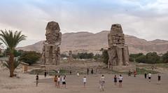 Colosos de Memnón, en Luxor