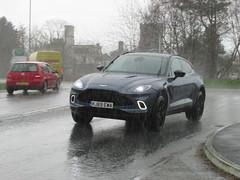 Aston Martin DBX (Andrew 2.8i) Tags: classics classic wales kingdom united streetspotting cars car street spotting carspotting british luxury suv sportutilityvehicle executive dbx astonmartin