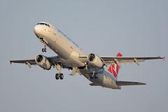 TC-JRV - Airbus A321-231 - Turkish Airlines (FelixTch) Tags: a321 airbus spotting ben gurion llbg israel