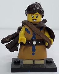 TESORA (krisdecatte) Tags: lego custom medieval minifigurines peasants