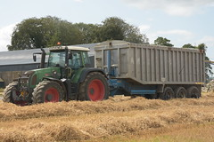 Fendt 820 Vario Tractor with a Beresford Grain Trailer (Shane Casey CK25) Tags: fendt 820 vario tractor beresford grain trailer agco green castletownroche harvest grain2019 grain19 harvest2019 harvest19 corn2019 corn crop tillage crops cereal cereals golden straw dust chaff county cork ireland irish farm farmer farming agri agriculture contractor field ground soil earth work working horse power horsepower hp pull pulling cut cutting knife blade blades machine machinery collect collecting nikon d7200 traktor traktori tracteur trekker trator ciągnik