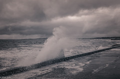 .... Yes, It Continues!! (BGDL) Tags: lightroomcc nikond7000 bgdl landscape prestwick nikkor18105mm3556g seascape crashingwaves weather yesitcontinues