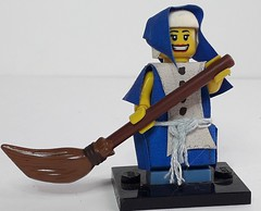ALENA THE HOUSEWIFE (krisdecatte) Tags: lego custom medieval minifigurines peasants