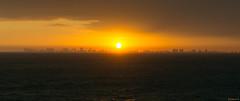 Panorama - Coucher de soleil, sunset - Fort Lauderdale,  USA - 3535 (rivai56) Tags: panorama coucherdesoleil sunset fortlauderdale usa 3535 city orange ville de la fort lauderdale au coucher soleil