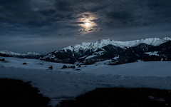 Moonlight (Guy Goetzinger) Tags: landschaft nachtaufnahmen schnee szenen vella kantongraubünden schweiz goetzinger sony 2020 moonlight nightphotography photooftheday mountains switzerland suisse alpin