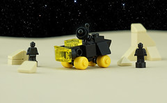 Febrovery 2020 Day 12 (TFDesigns!) Tags: lego rover febrovery blacktron space micro microscale