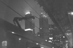 batman (dolce toupet) Tags: 35mm fog bw skyscraper metro night noir moscow