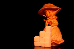 9 sweet squares and a lady... (jrmcmellen) Tags: sweets sugar sugarcubes 9 onblack sweetsforthesweet smilesforsaturday