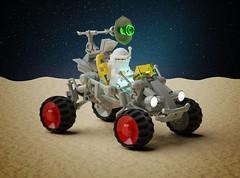 Febrovery 2020 Day 12: GR-33873 'Warthog' Snatch rover (Littlepixel™) Tags: ncs lego neo classic space benny iceplanet buggy rover lunar atv manx moon warthog greebles greeblies exosuit render blender ldraw bricksmith moc afol quadbike quad