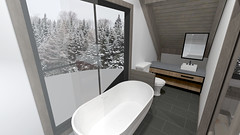 Ski Cabin Concept 14 (reillydesign) Tags: skihouse mountainhouse cabin interiordesign ski house mountain