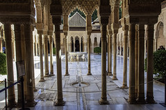Patio de los Liones (kong niffe) Tags: patiodelosliones alhambra granada españa spain spania palace moorish moors muslim islam art