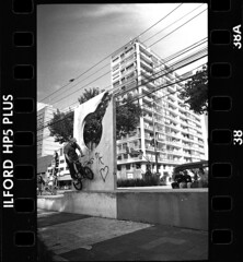 1961 (Victor Frezza) Tags: leicacamera leicacl leicastreetphotography bmx bmxstreet bike blackandwhite ilford ilfordfilm ilfordhp5 architectureblackandwhite architecturephotography