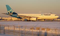 Air Transat / Airbus A330-243 / C-GTSJ / YUL (tremblayfrederick98) Tags: aviation avgeek avporn airplane airbus a330 planesspotting planes yul airtransat takeoff transat montreal airbusa330 spotting winter