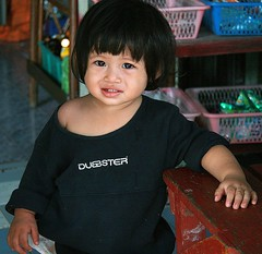 cute child (the foreign photographer - ฝรั่งถ่) Tags: cute girl portraits canon thailand child bangkok khlong bangkhen thanon