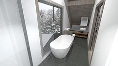 Ski Cabin Concept 15 (reillydesign) Tags: skihouse mountainhouse cabin interiordesign ski house mountain