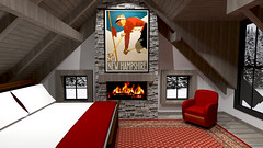 Ski Cabin Concept 19 (reillydesign) Tags: skihouse mountainhouse cabin interiordesign ski house mountain