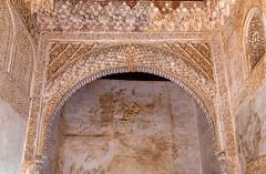 Moorish Era Arch (Me in ME) Tags: alhambra granada spain generalife palace arch moors