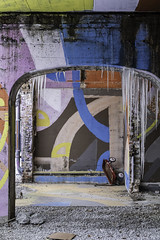 Lost Childhoods (aerojad) Tags: eos canon 80d dslr 2020 chicago city urban outdoors snow snowing snowscape edgewater streetphotography streetscape citylife winter february art artinpublicplaces mural murals streetart ice icicle wagon toys toy