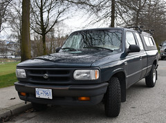 1997 Mazda B4000 cab plus pickup truck (D70) Tags: 1997 mazda b4000 cab plus pickup truck hastingssunrise vancouver britishcolumbia canada