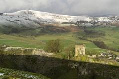 Peveril Castle (l4ts) Tags: landscape derbyshire peakdistrict darkpeak whitepeak hopevalley castleton cavedale mamtor peverilcastle snow winter thegreatridge