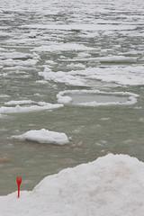 Ready, steady, red! (Dieversa) Tags: sea seashore red ice minimalistic minimalism frozen odessa odesa snow snowy winter зима море лёд одесса february cold white
