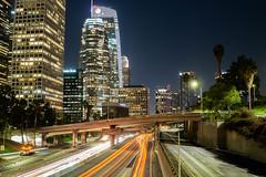 City of Angels (maxroseman) Tags: photography view skyscraper skyline building architecture lights city urban losangeles downtown 30mm sigma30mm sigmalens exposure long longexposure sonya6000 alpha6000 alpha sony