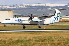 G-JECX_10 (GH@BHD) Tags: gjecx bombardier dehavilland dhc dhc8 dhc8402q dasheight be bee flybe aircraft aviation airliner turboprop propliner bhd egac belfastcityairport