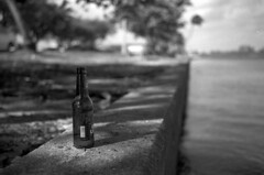 Lonely Bottle (PositiveAboutNegatives) Tags: leica rangefinder m2 leicam2 cv cosina voigtlander voightlander35mmf2ultronaspherical 35mm film analog ilford panf hc110 vuescan voigtlander35mmf2ultraaspherical voigtlander35mmf2ultronaspherical