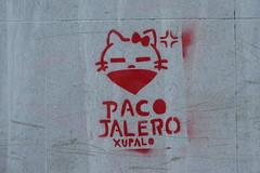 stencil, Santiago