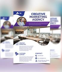 Flyer Design (kawsar5729) Tags: flyer design corporate business brochure flyerdesign businesscard printdesign freemockup freetemplate rollup