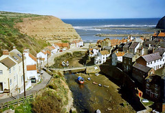 Photo of Staithes, Yorkshire, 28th March 1997