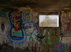 Natural Elements (Grooover) Tags: wall window opening graffiti bawdsey suffolk grooover