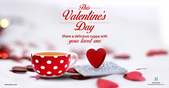 This Valentine's Day share a delicious cuppa with your loved one (halmaritea) Tags: valentine'sday tea